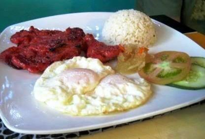 Filipino breakfast. Php 185. I got this one and I think it's worth it.