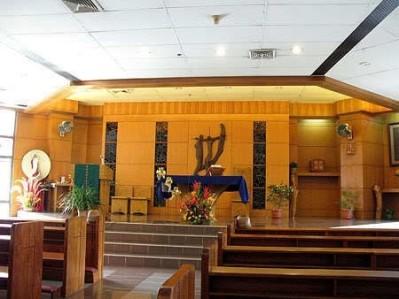 Ateneo Rockwell's chapel